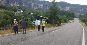 Silifke'de otobüs kazası