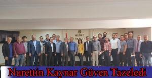 Başkan Kaynar'a Güvenoyu