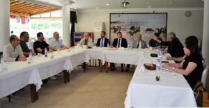 Başkan Turgut, basın toplantısı...