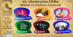 Silifkede Festival sanatçıları...