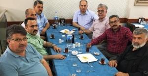 İhsan Küpük, Türk Diyanet Vakıf Sen'i ağırladı