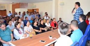 MHP Silifke İlçe Teşkilatı'nda  Bayramlaşma Heyecanı