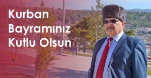 AHMET GÜNEL, KURBAN BAYRAMINI KUTLADI