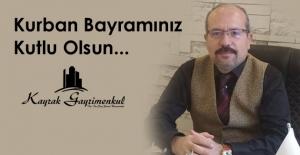 ARİF KAYRAK, KURBAN BAYRAMINI KUTLADI