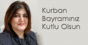 NACİYE KARAMAN, KURBAN BAYRAMINI KUTLADI
