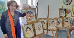 Ressam Kundak'dan Üç boyutlu resim sergisi
