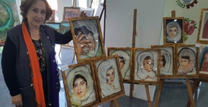 Ressam Kundakdan üç boyutlu resim...