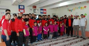 Futbolcular, Kariyer Buluşmalarına katıldı