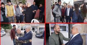 Cumhur ittifakı adayı Aktan'a yoğun ilgi