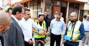 "BAŞKAN SEÇER ""SIZINTI"" TESPİTİ YAPTI"