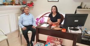 Başsavcı Köklü'den gazetemize veda ziyareti