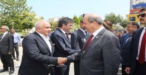 KKTC Başbakanı Ersin Tatar, Erdemli'de