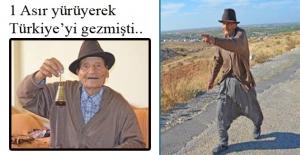 Bir asırdır Türkiye'yi yürüyerek gezen 102 yaşındaki öğretmen hayatını kaybetti