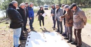 Silifke'nin Kargıcık Bölgesinde turizm köyü için ilk incelemeler yapıldı