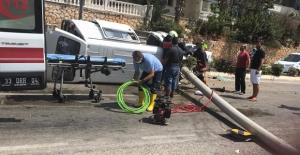 Silifke'de kaza: 3 yaralı