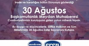 Medcem'den 30 Ağustos Mesajı