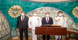 Ertuğrul Fırkateyni Şehitleri İçin Anma Töreni Düzenlendi