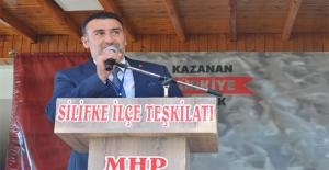 MHP Silifke ilçe  Başkanı Levent Nogay Güven Tazeledi.