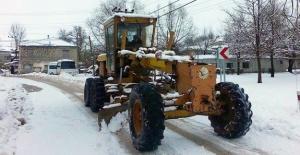Silifke'de karla mücadele başladı