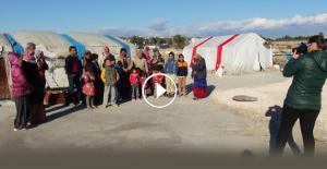 Suriyeli çocuklar yardım bekliyor