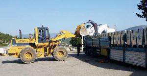 Belediye 600 çöp konteyneri aldı