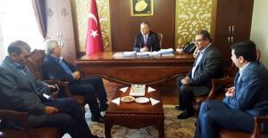 Milletvekili Tezcan, Kaymakam Cinbir'le gündemi degerlendirdi