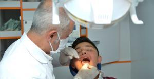 Gezici Diş Sağlığı Tarama Aracı İlçeleri Geziyor