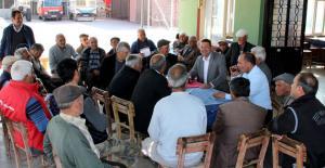Turgut, Karadedeli ve Kabasakallı'da incelemelerde bulundu