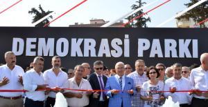 Başkan Kocamaz, Demokrasi Parkı'nı Açtı