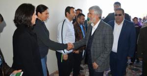 Milletvekili Tezcan, Silifke'de halk günü düzenledi