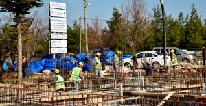 MESKİ, Gülnar'da teknik birimler hizmet binası yapıyor