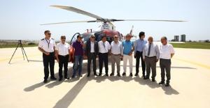 Başkan Kocamaz, Helikopter sözünü tuttu