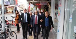 CHP Milletvekili Antmen, Silifke'yi ziyaret etti
