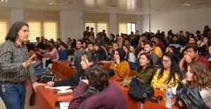 Dha Mersin Temsilcisi Mustafa Ercan İletişim Fakültesine Konuk Oldu