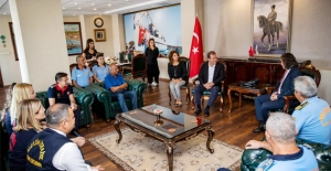 Başkan Seçer, İtfaiye Personelini Ağırladı