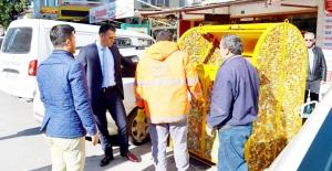 Silifke'ye yeni model hijyenik çöp konteyneri