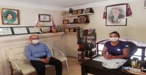 Kaymakam Nazlı'dan Gazetemize Ziyaret