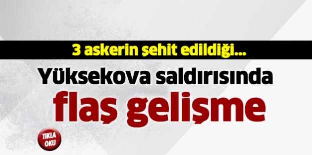 Yüksekova saldırısında 5 gözaltı